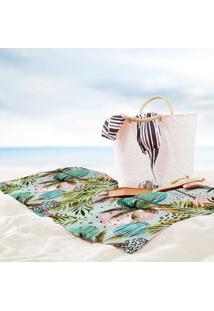 Toalha De Praia / Banho Caribe Tropical