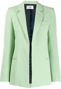 Victoria Victoria Beckham Fitted Jacket - Verde