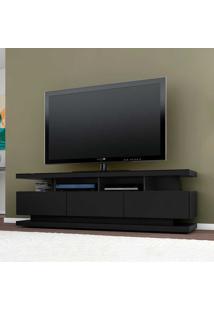 Rack Para Tv Até 70 Polegadas 3 Gavetas Vivare Black - Móveis Germai