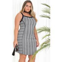 01cb84c288 Home Vestuário Plus Size Jacquard Preto. Vestido Em Jacquard Preto Com  Branco Lisamour