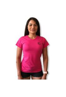 Camiseta Lobo Basic Feminina Pink