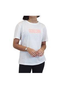 Camiseta Colcci Amar Mais Feminina