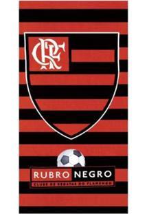 Toalha Do Flamengo Praia Velour Dohler - Unissex