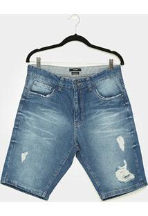 Bermuda Jeans Enfim Comfort Masculina - Masculino