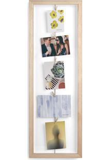 Porta-Retrato Varal Flip Vertical Natural 72 Cm