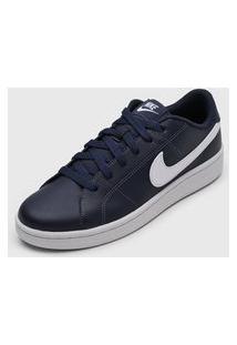 Tênis Nike Sportswear Court Royale 2 Azul-Marinho