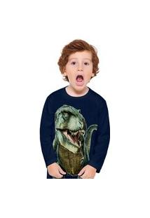 Camiseta Pijama Infantil Menino Kyly Marinho