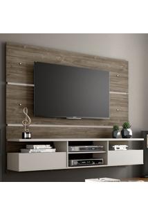 Painel Para Tv Até 60 Polegadas 2 Portas Nt 1015 Canela/Areia - Notavel