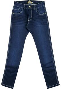 Calça Look Jeans Super Skinny Jeans