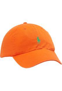 Boné Polo Ralph Lauren Cotton Chino Baseball Orange