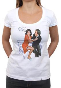 No Puedo, Ainda Estoy Con Fomita - Camiseta Clássica Feminina