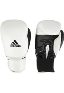 Luvas De Boxe Adidas Power 100 Smu Colors - 16 Oz - Adulto - Branco/Preto
