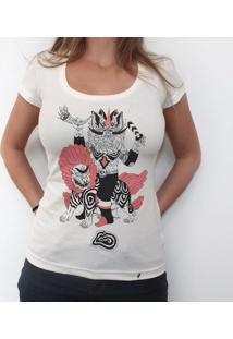 Pressagio Negro - Camiseta Clássica Feminina