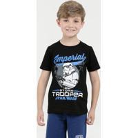 Camiseta Para Meninos Palha Preta infantil   Shoes4you 32905eea22