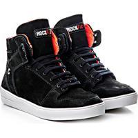 4ec0b22938478 Netshoes. Tênis Sneaker Rock Fit Couro Nobuck - Feminino
