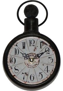 Relógio De Parede Blue Azul Oldway