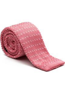 Gravata Tricot Point Pink