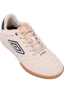 Tênis Umbro Futsal Street F5 Ii - Masculino-Bege+Azul
