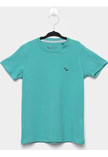 Camiseta Infantil Yachtmaster Básica Masculina - Masculino-Verde