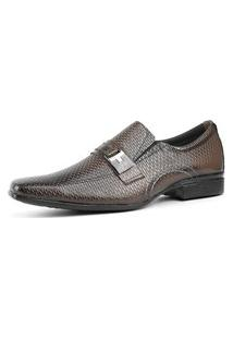 Sapato Social Masculino Caramelo