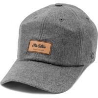 Boné Other Culture Aba Curva Dad Hat Strapback Warmup Cinza 85f0354aceb