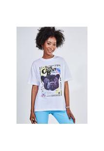 Camiseta Oversized The Cats Best