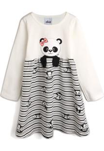 Vestido Elian Panda Off-White