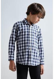 Camisa Mini Pf Bilbão Infantil Reserva Mini Masculina - Masculino-Marinho