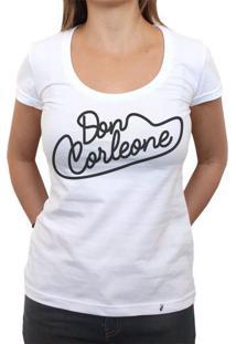 Don Corleone - Camiseta Clássica Feminina
