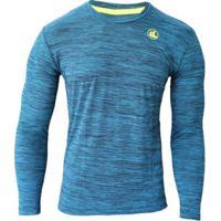 Camisa El Manga Longa Rajada Plank Uv45 Masculina - Masculino 56e4503d6e2a1