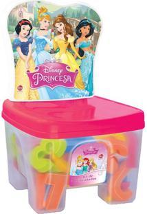 Educa Kids Banquinho Lider Princesas Multicolorido - Tricae