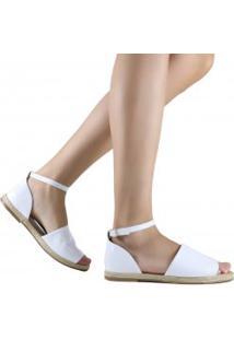Sandália Zariff Shoes Rasteira Corda