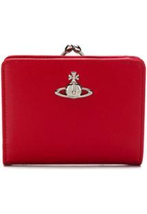 Vivienne Westwood Porta-Moedas Com Placa De Logo - Vermelho