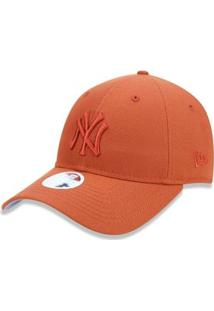 Boné 920 New York Yankees Mlb Aba Curva Strapback New Era - Feminino