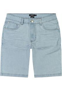 Bermuda Azul Claro Slim Jeans Stretch