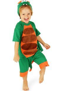 Pijama Infantil Lé Com Cré Dragão Verde