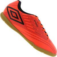 Centauro. Chuteira Futsal Umbro Speed Iv Ic - Adulto - Coral Preto d0eae418772a5
