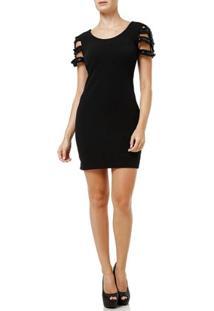 Vestido Curto Feminino Autentique Preto