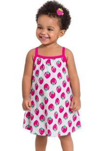 Vestido Infantil Kyly Meia Malha 110003.0467.3
