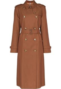 Burberry Trench Coat Waterloo - Marrom