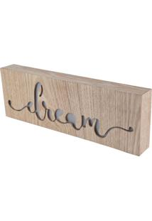 Caixa Luminosa Dream Madeira 10X3,5X30