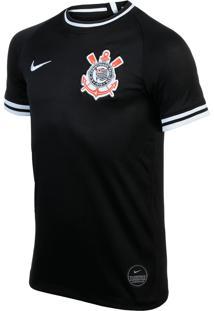 Camisa Nike Corinthians Ii 2019/20 Torcedor Pro Infantil
