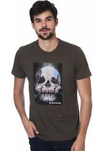 daaf095f3c414 Camiseta Long Island Kvs Masculina - Masculino-Verde Militar ir para a loja