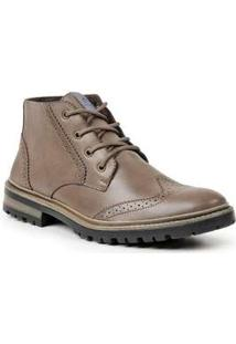 Bota Dress Boot Masculina Polo State Sabertooth Marrom Claro Brown