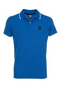 Camisa Polo Fatal Piquet B24191 - Masculina - Azul Escuro