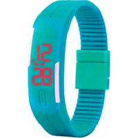 310807da33b Relógio Led Azul Bebê - Pulseira Ajustável