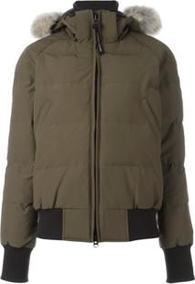 Canada Goose Hooded Padded Jacket - Verde