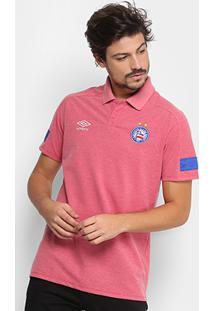 a55beb7edd Camisa Polo Bahia Umbro Viagem 18 Masculina - Masculino