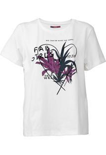 Camiseta Sommer Girls Off-White