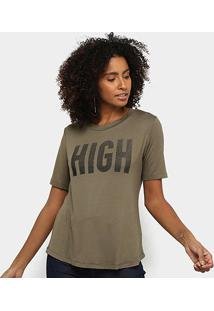 Camiseta Acostamento High Feminina - Feminino